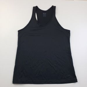 Nike Womens Black Racer Back Tank top solid work